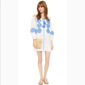 Line & Dot Beaux Embellished Mini Dress XS